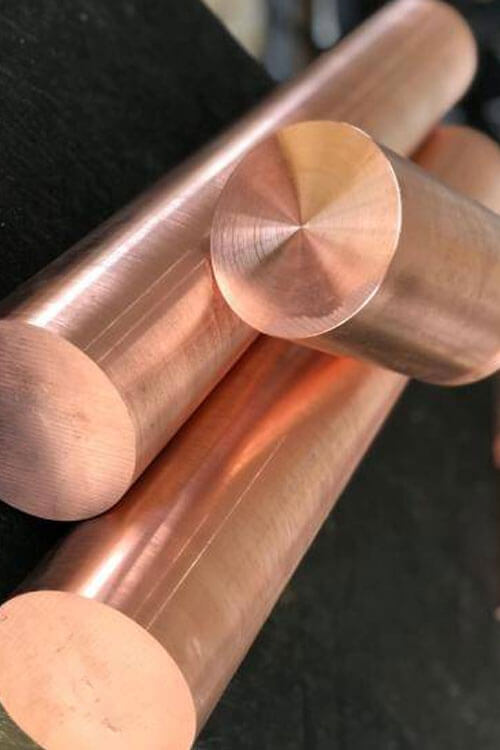 Tungsten Copper Round Bars